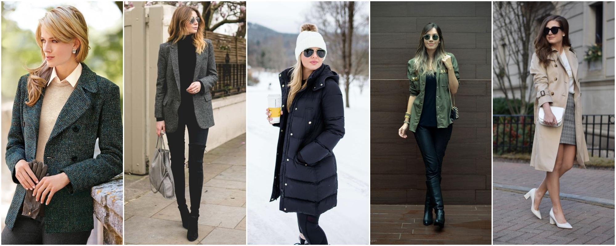 7 tipos de casacos para trabalhar arrasando neste inverno
