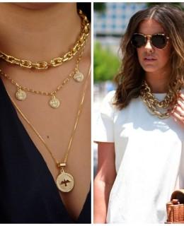 Correntaria – As joias de corrente são a tendência da vez